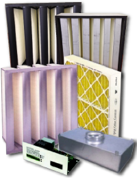 Custom air filters we designed for Toronto clients